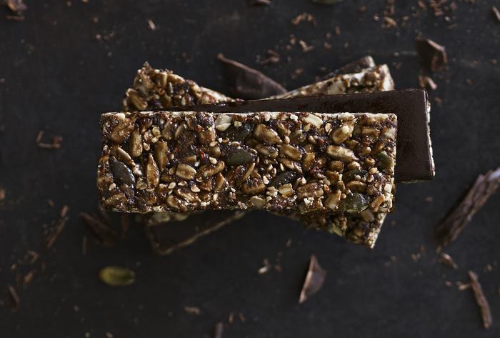 chocolate seed bar