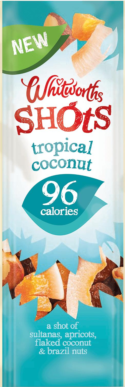 Whitworths Shots - Tropical Coconut (96 calories)