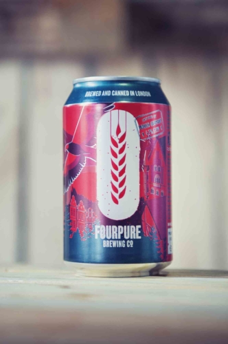 Fourpure Brewing Co. Craft Beer Cans - Office Pantry.jpg