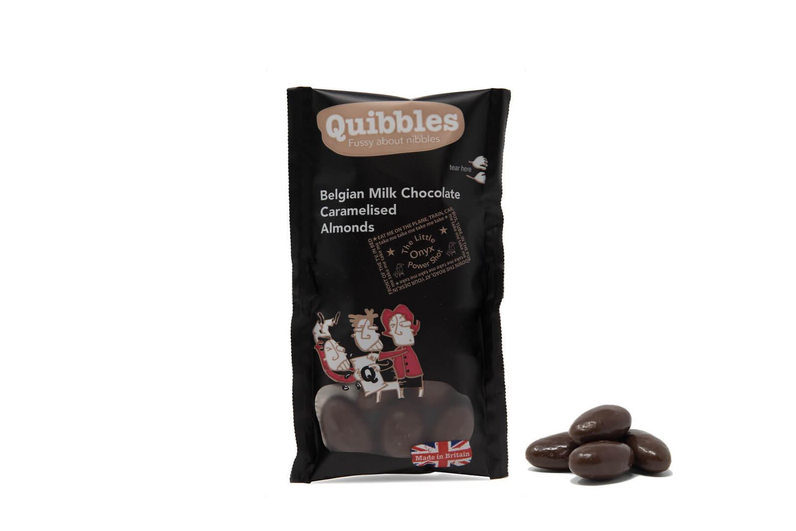 Office Pantry Quibbles Belgian Milk Chocolate Caramelised Almonds.jpg