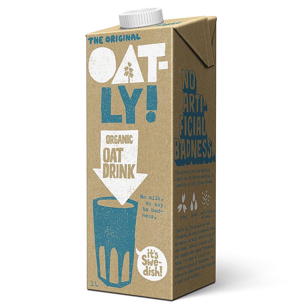 Oatly Oat Milk x Office Pantry