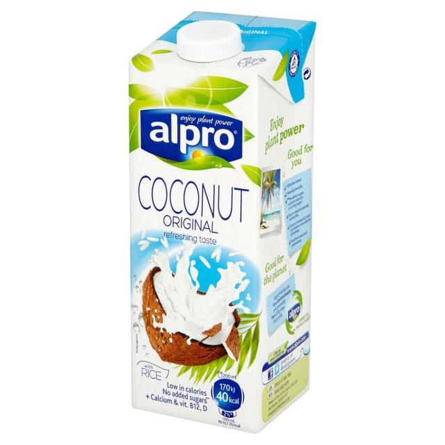 Alpro Coconut Milk x Office Pantry