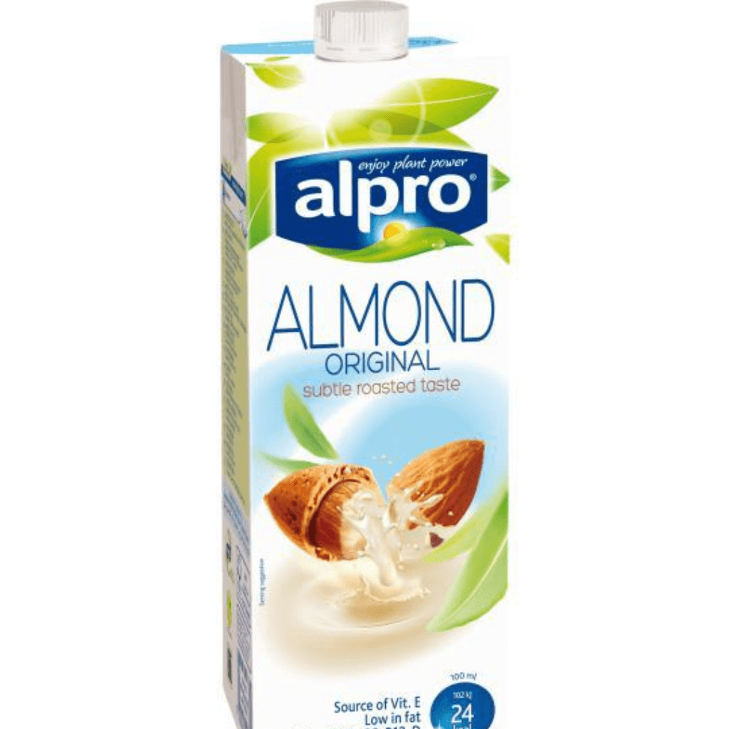 Alpro Almond Milk Sweetened Unsweetened x Office Pantry.png