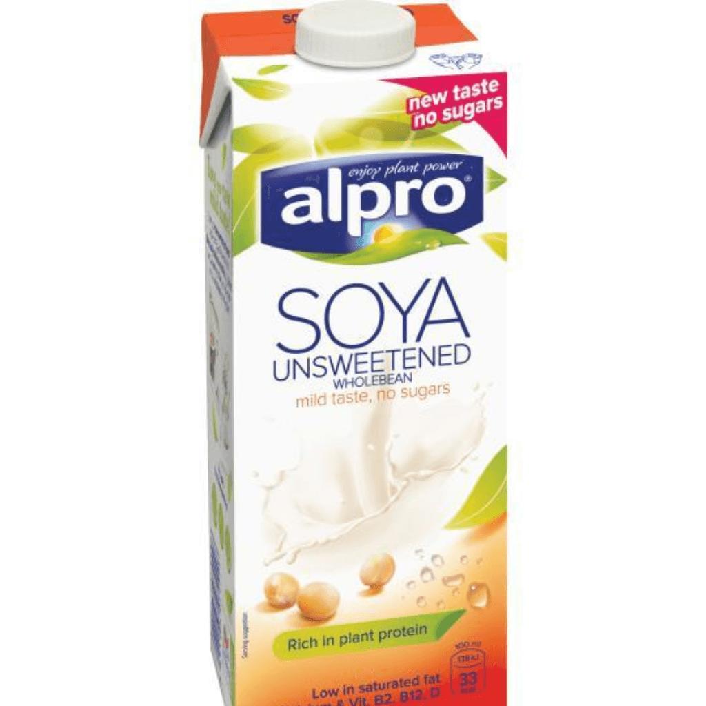 Alpro Soya Milk Sweetened Unsweetened x Office Pantry.png