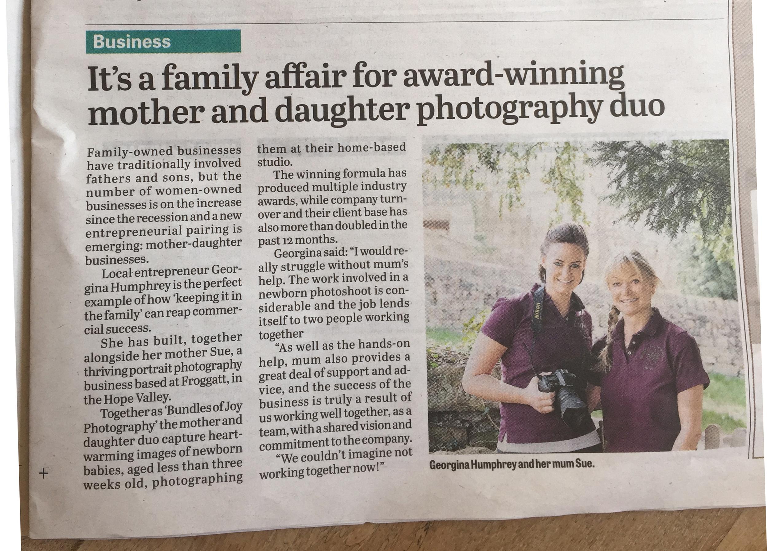 local award winning newborn photography entrepreneur