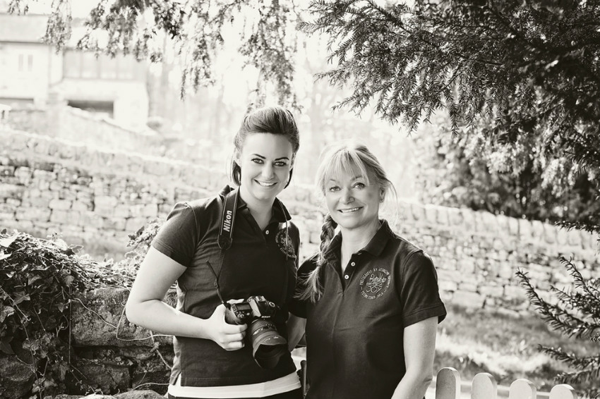 Georgina (left) and Sue (right) of Bundles of Joy Photography