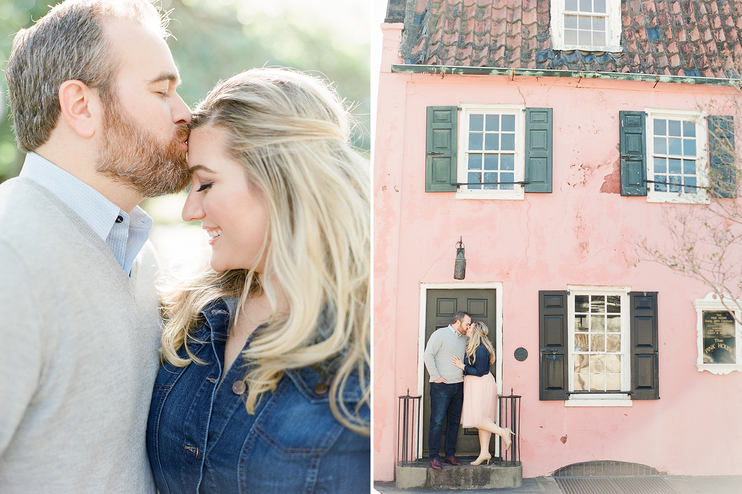 Downtown Charleston Engagement by The Happy Bloom.jpg