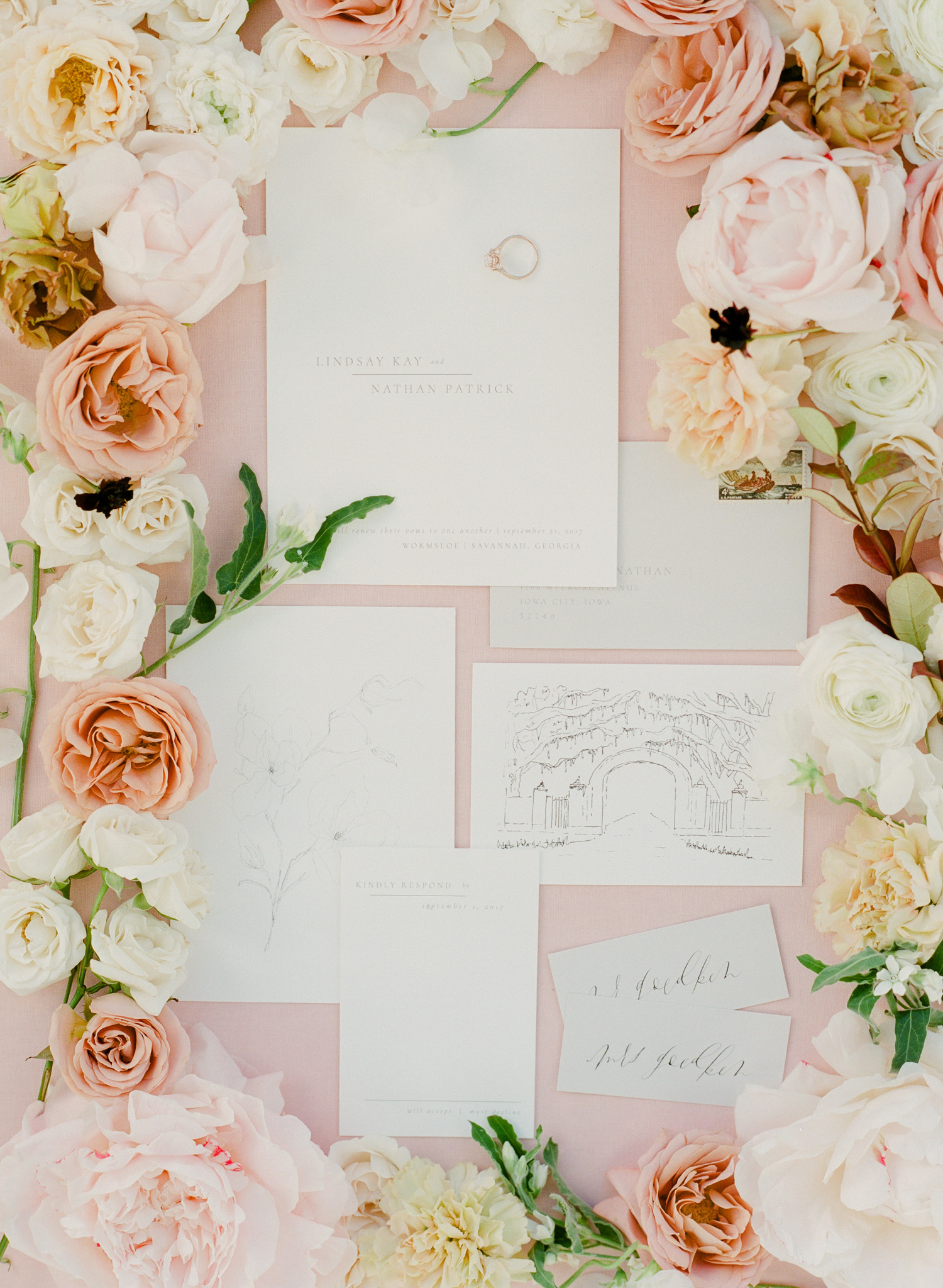 Invitation Suite by  Jenny Sanders