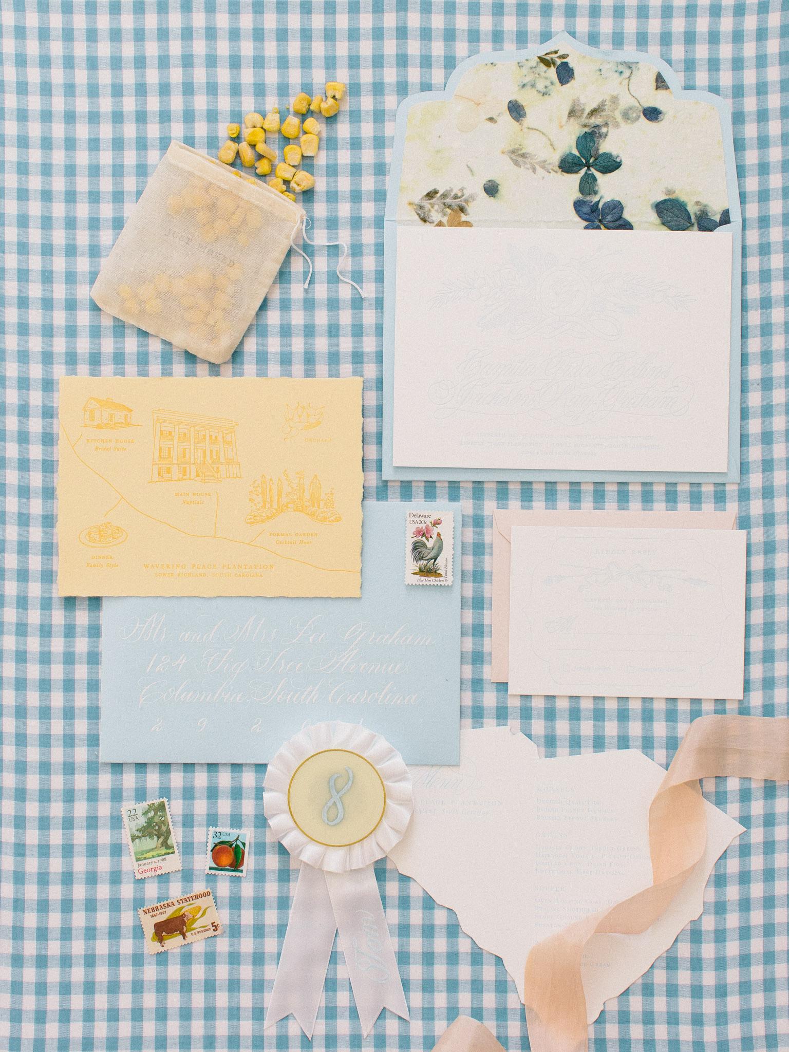 Invitation Suite by  Cake: Press, Papier & Design