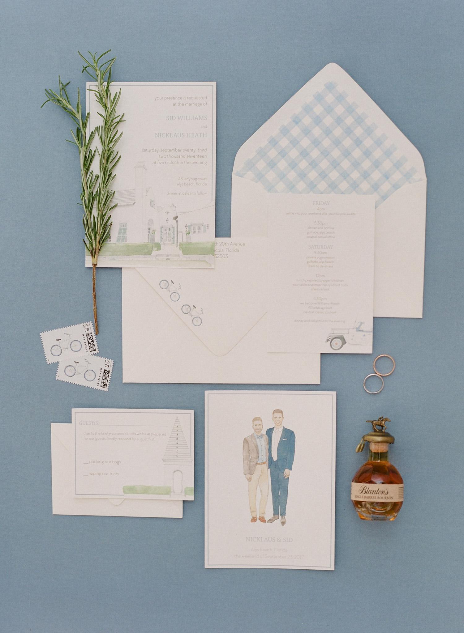 Invitation Suite by  Sara Fitz