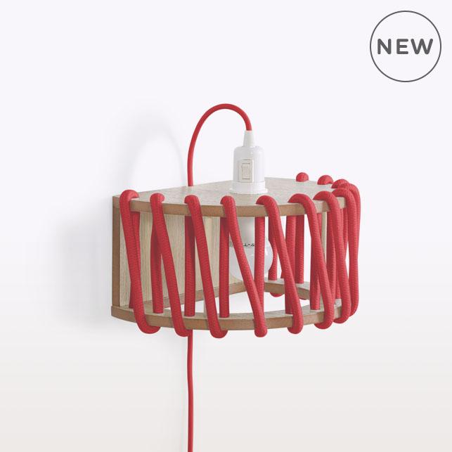 Macaron wall lamp   Silivia Ceñal