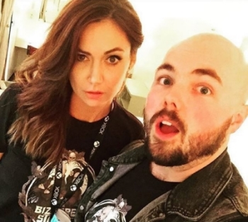 Bizarre States hosts, Jessica Chobot and Andrew Bowser.