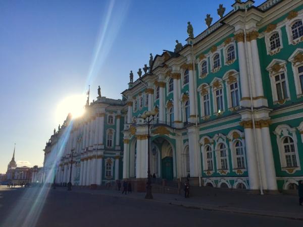 Hemitage Museum in Saint Petersburg Russia.