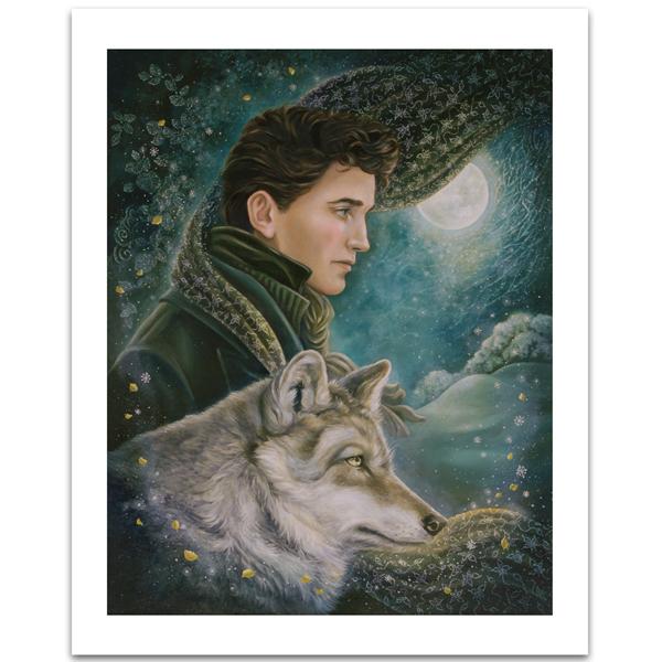Fantasy Wolf Art Eeva Nikunen