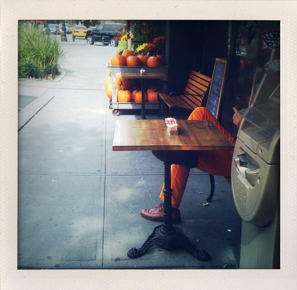 Permission to wear pumpkin, pumpkin.