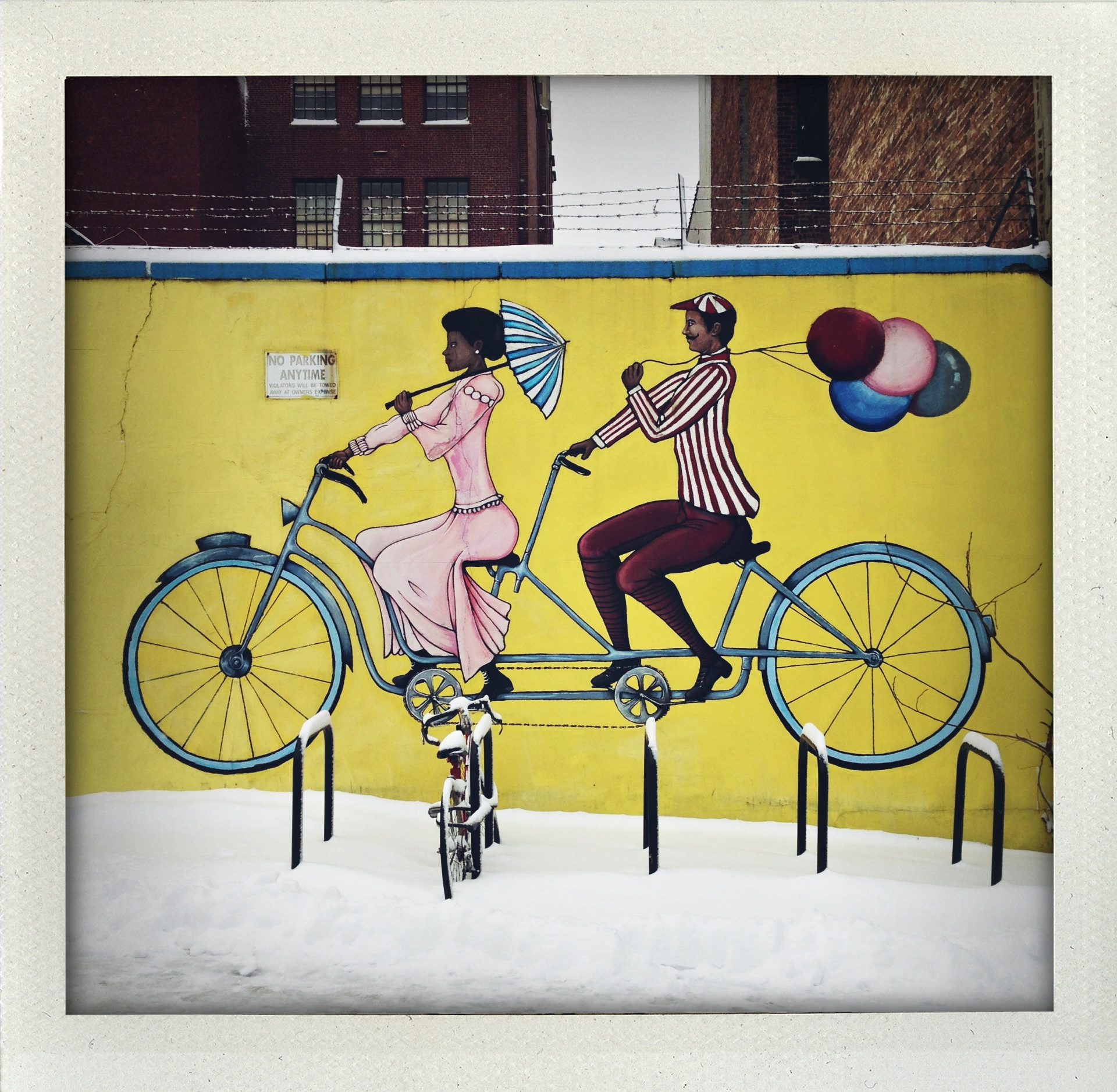 Permission to ride tandem.