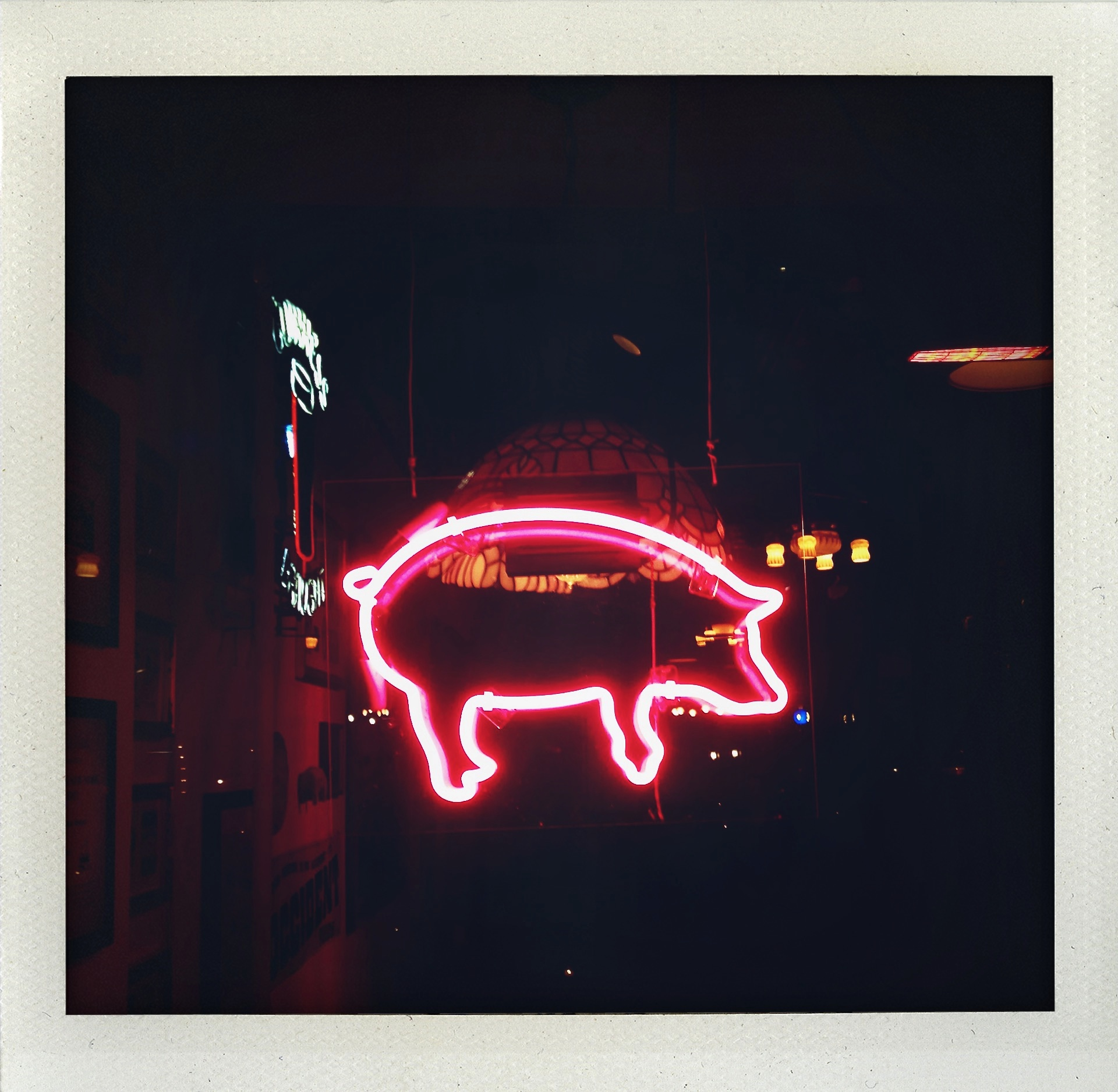 Permission to pig out.