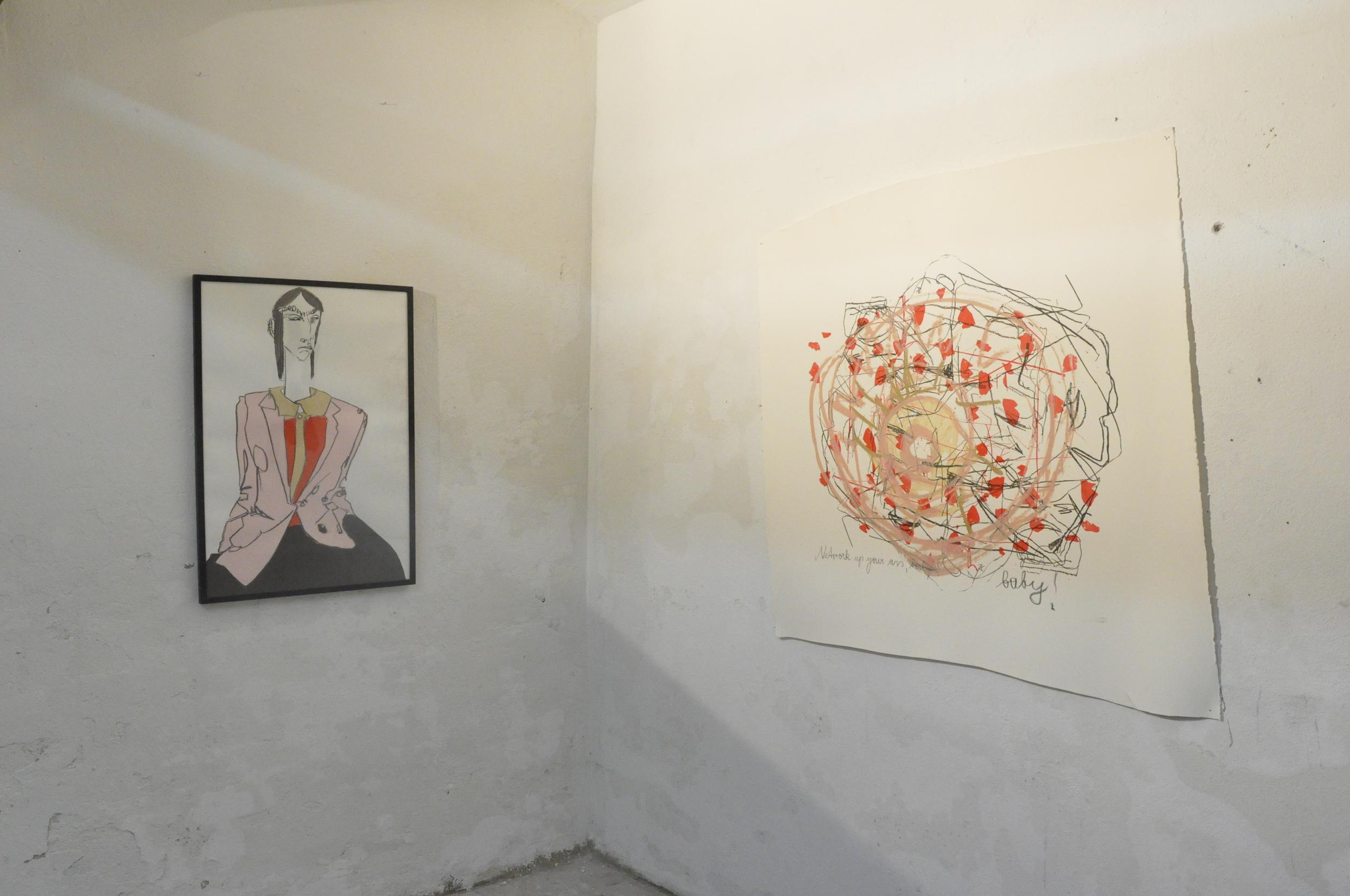 Installationshot  1st cellar exhibition