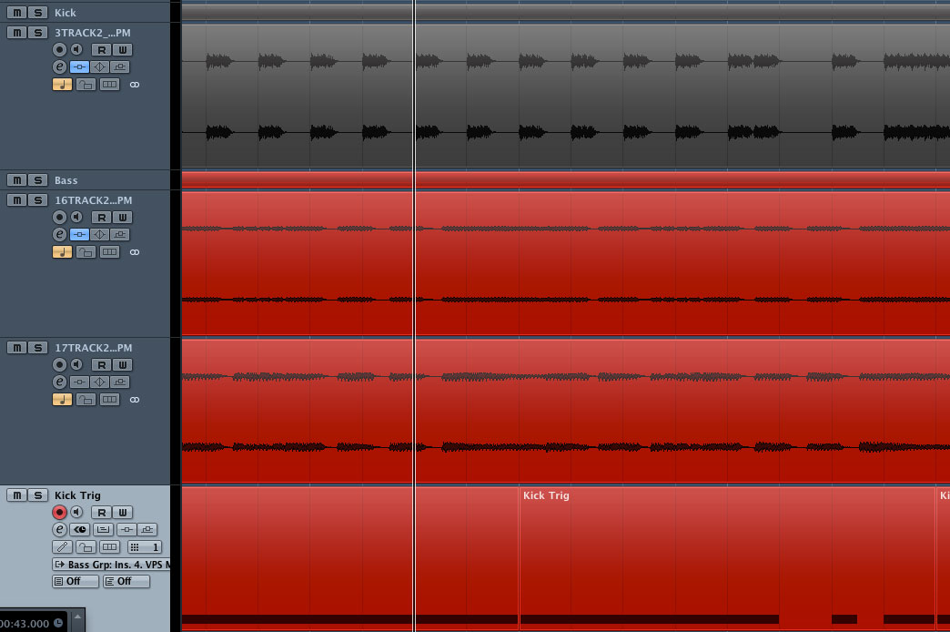 If the kick isn't 4/4 I'll set the sidechain input trigger to MIDI and program a MIDI channel to feed into it.