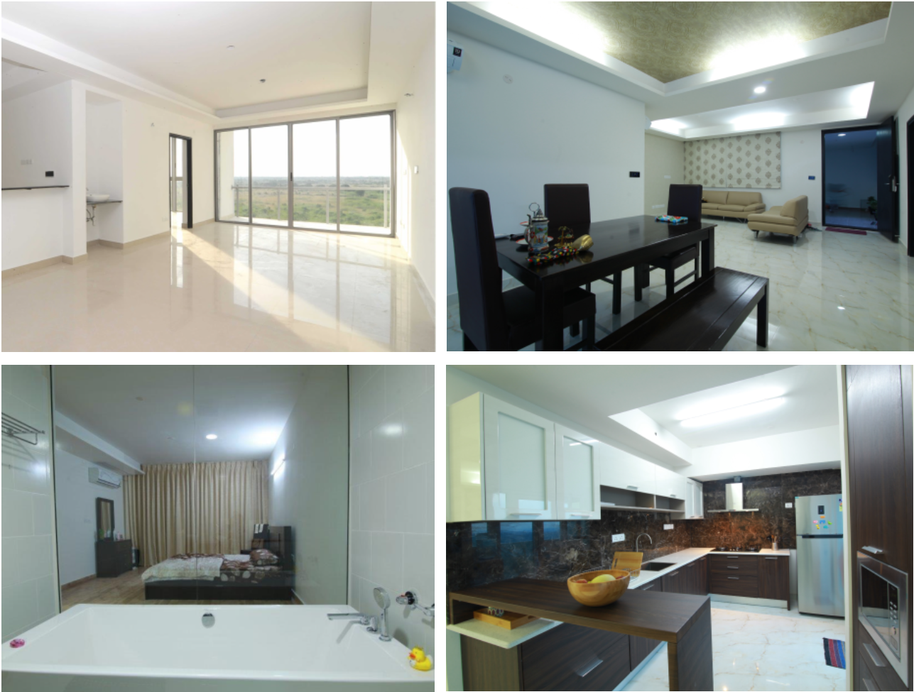 3bhk Apartment - Spacestation Township