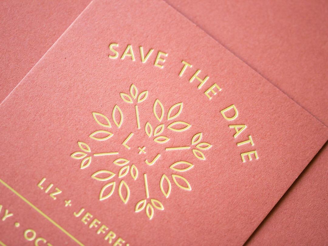 Liz x Jeffery Save the Date