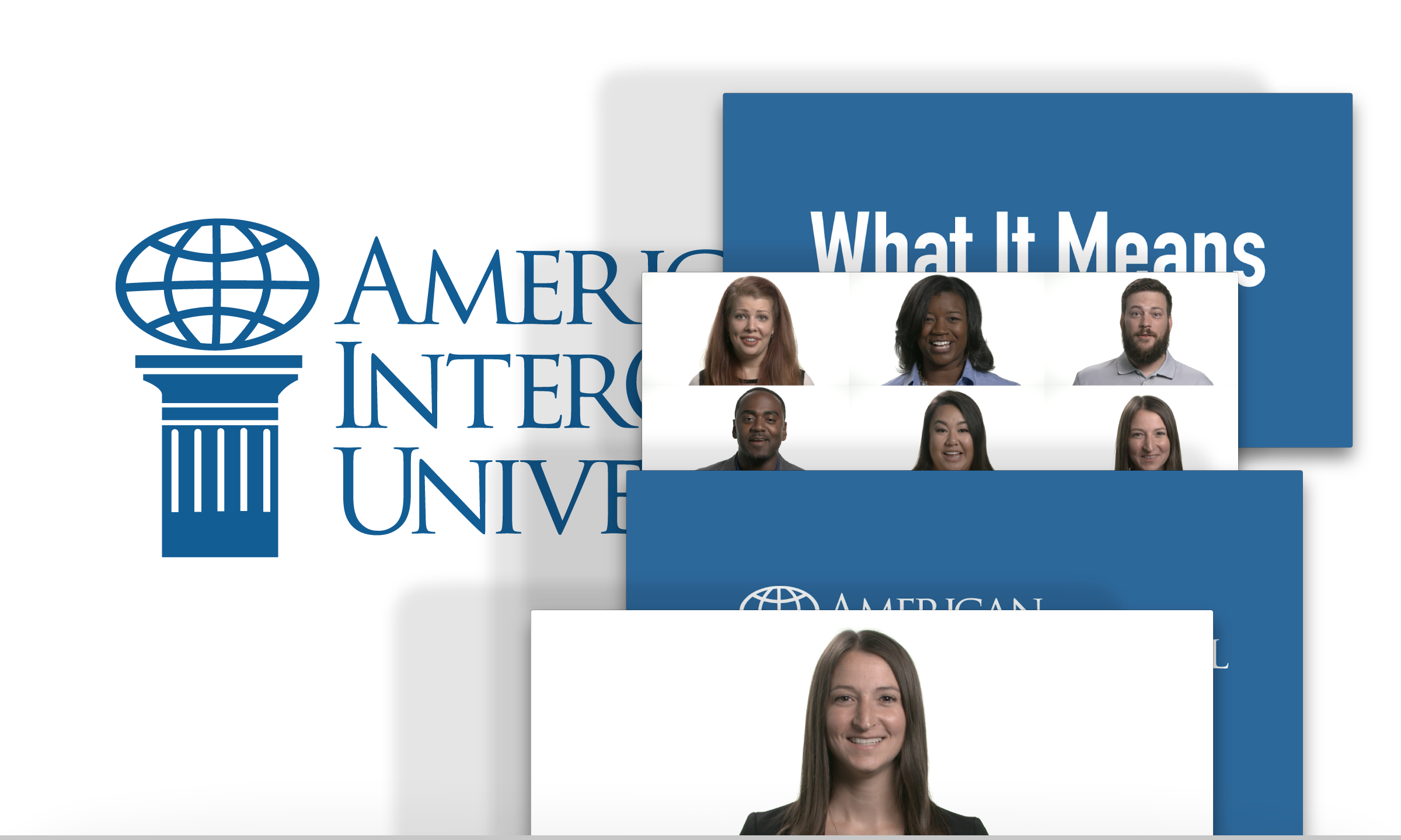 AIU Promotional Videos