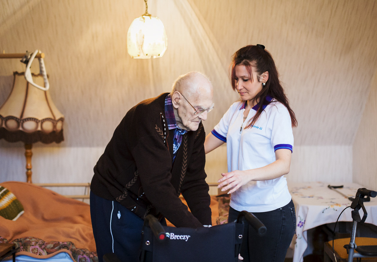 HOME CARE - Reportage about Home Care in a small town close to Berlin.