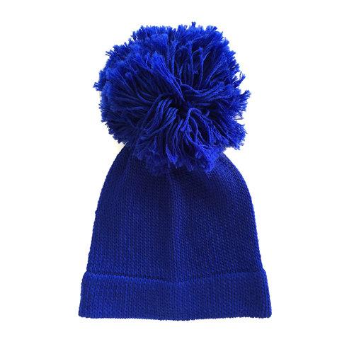 a4641a20 Giant Pom Pom Beanie - Royal Blue