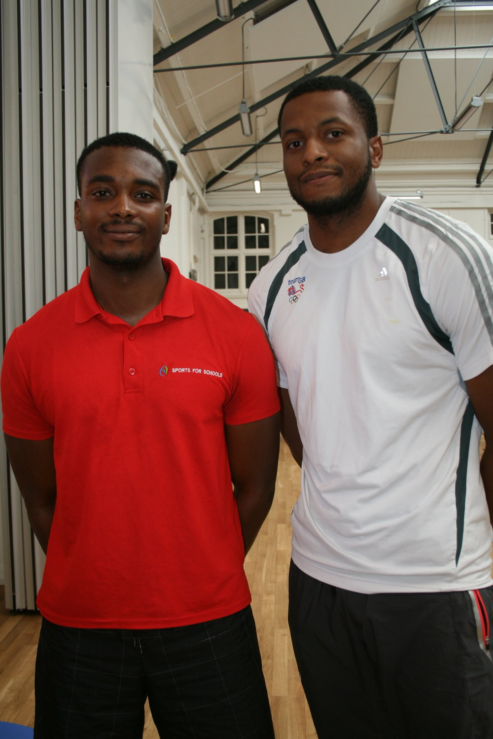 Nathan Fox and Omar the Sportivater visiting Earlsmead