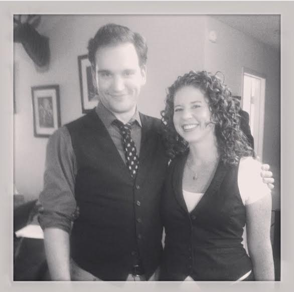 9/28/13 Filming on the set of  50 days of Dating  with the talented Joel Gelman