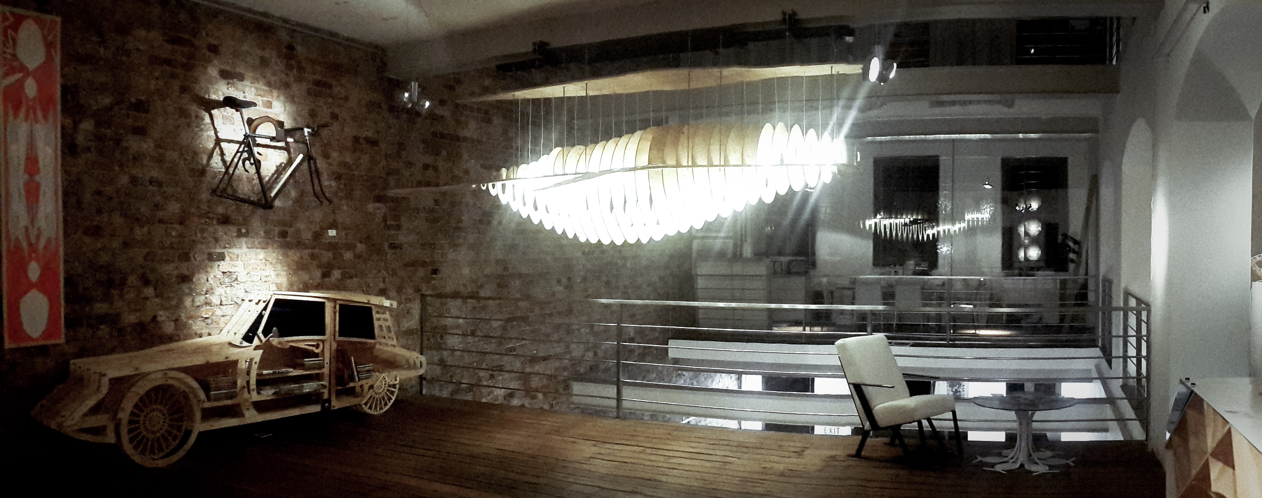 Whale Chandelier
