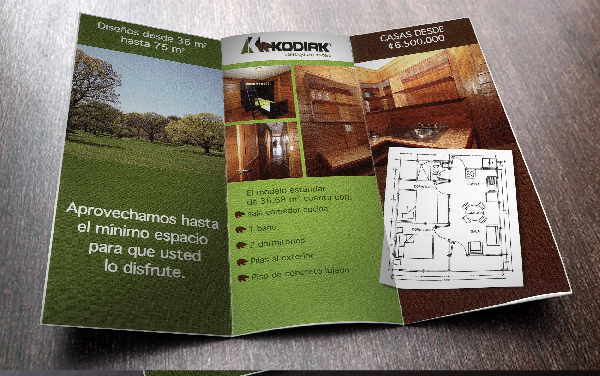 Brochure para KODIAK