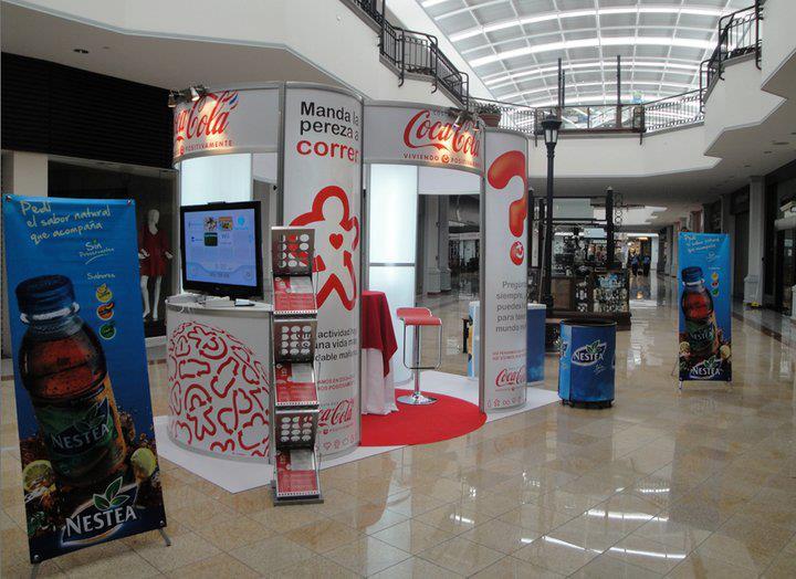 Stand para Feria en Costa Rica