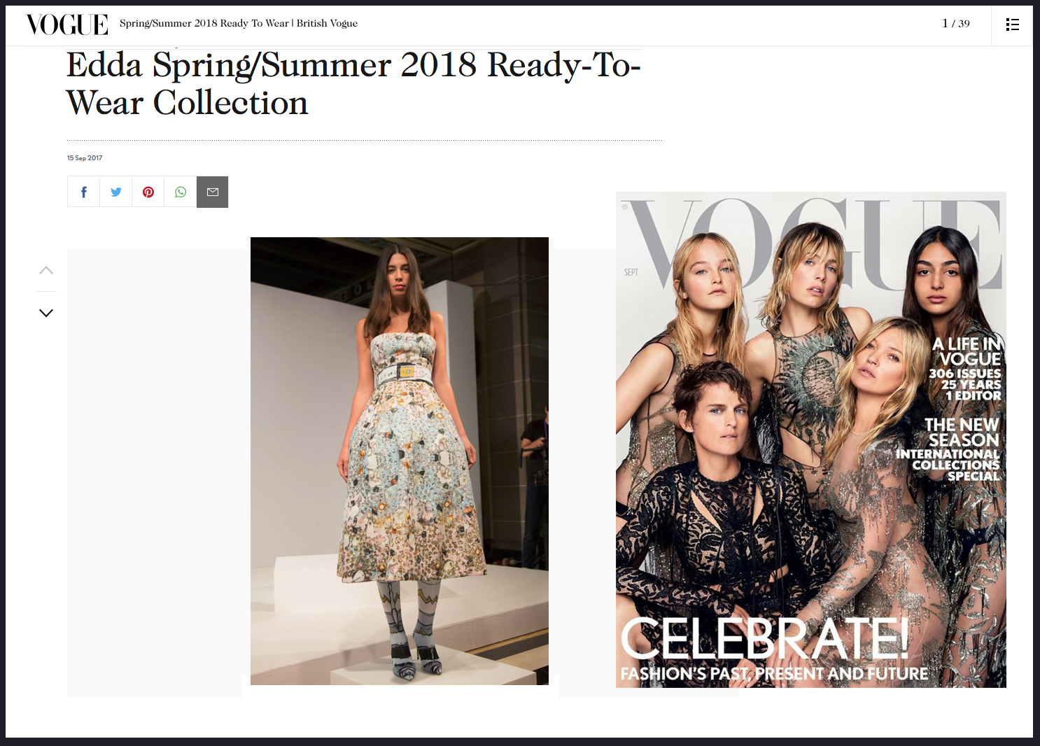Copy of EDDA Spring Summer 2018 Vogue