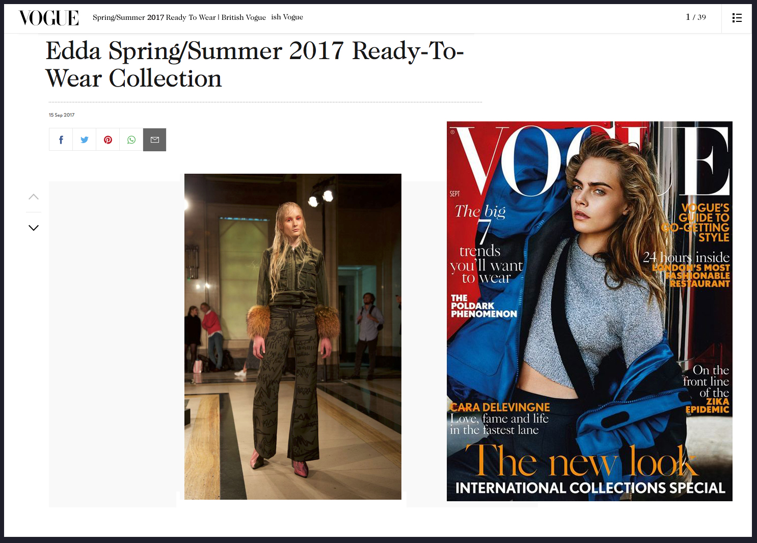 Copy of EDDA Spring Summer 2017 Vogue