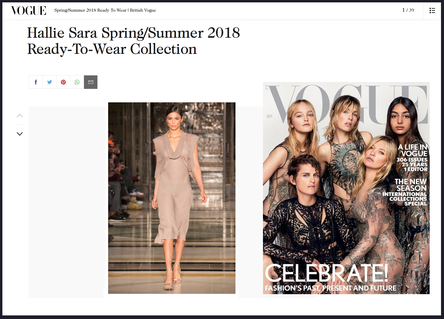Copy of Hallie Sarah Spring Summer 2018 Vogue