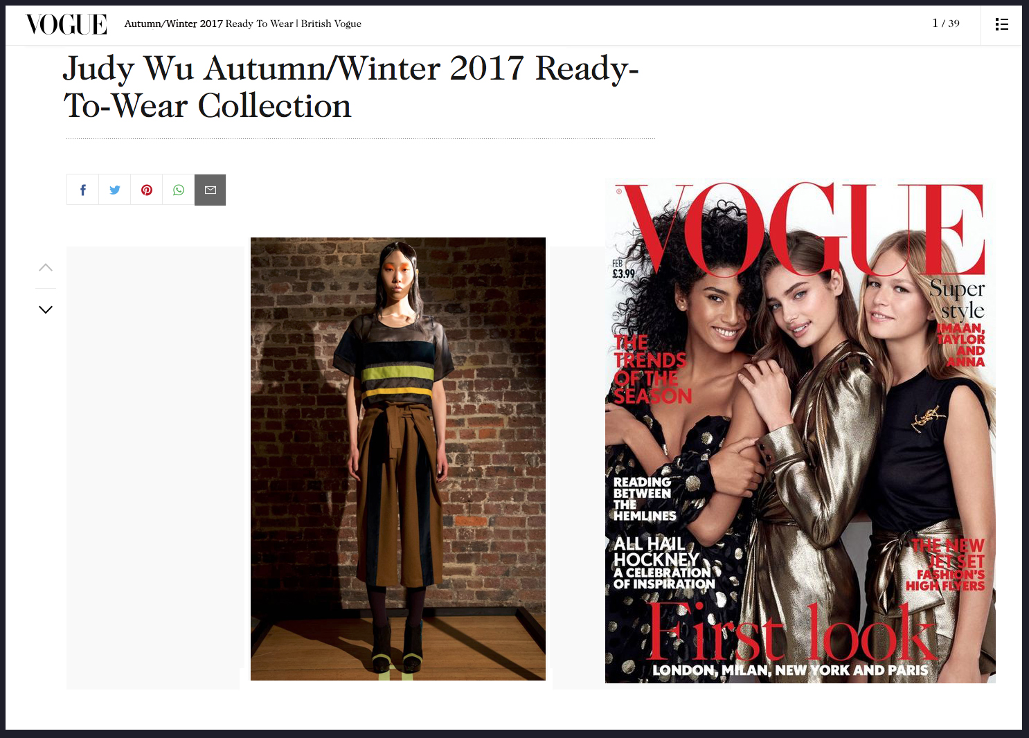 Copy of Judy Wu Autumn Winter 2017 Vogue