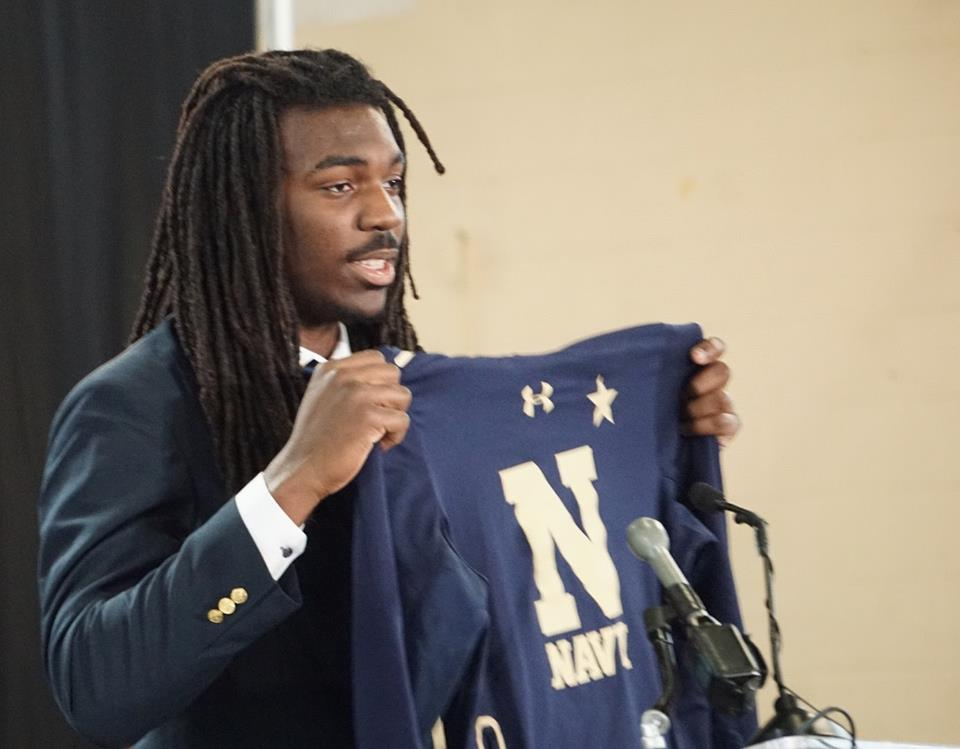 Vaughn Taylor commits to Naval Academy!