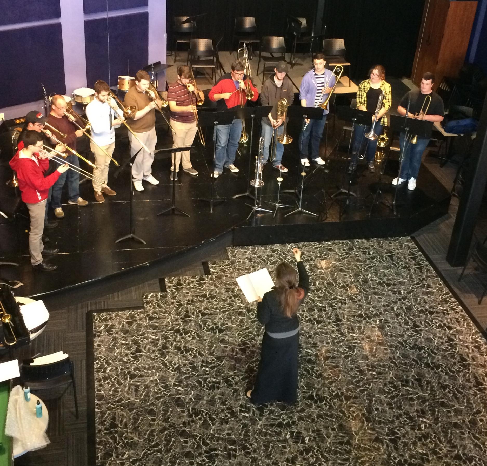 Masterclass with the University of Central Oklahoma trombone studio.
