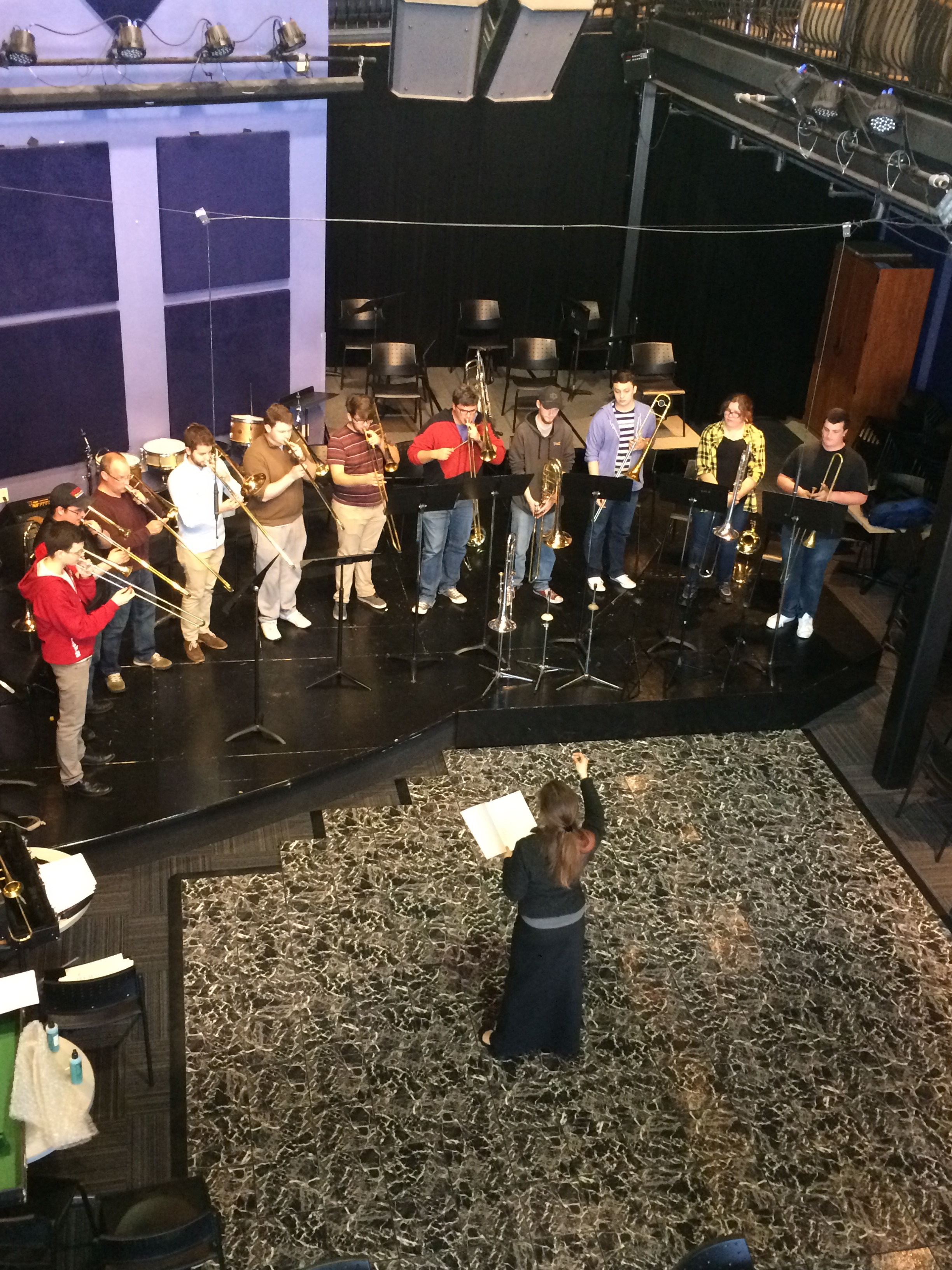Trombone Masterclass at the University of Central Oklahoma