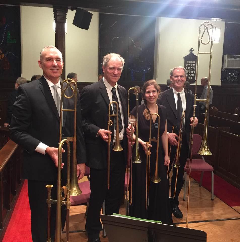 A big sackbut consort for Artek's German Baroque show in NYC