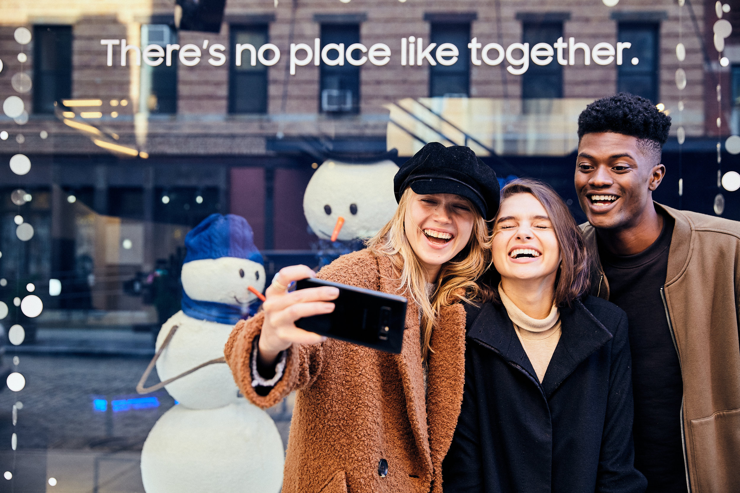 Samsung 837 Holiday Campaign