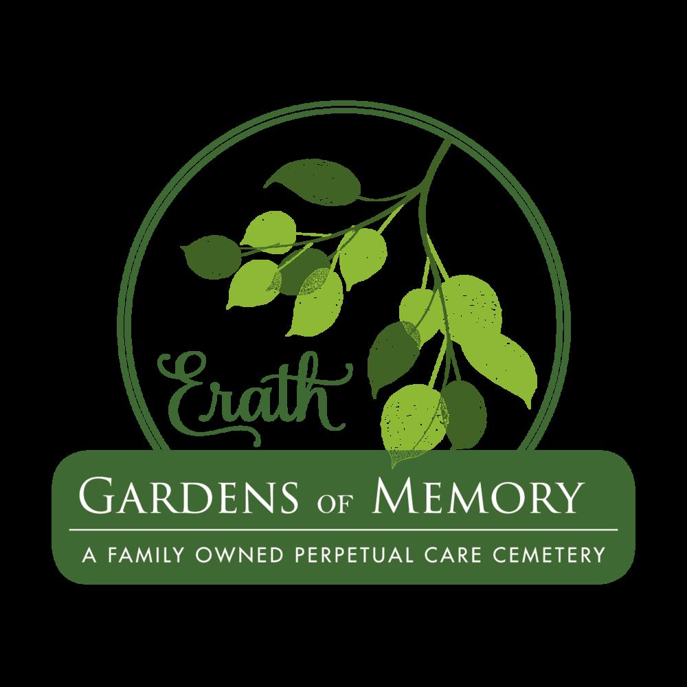 Logo design for Erath Gardens of Memory Cemetery