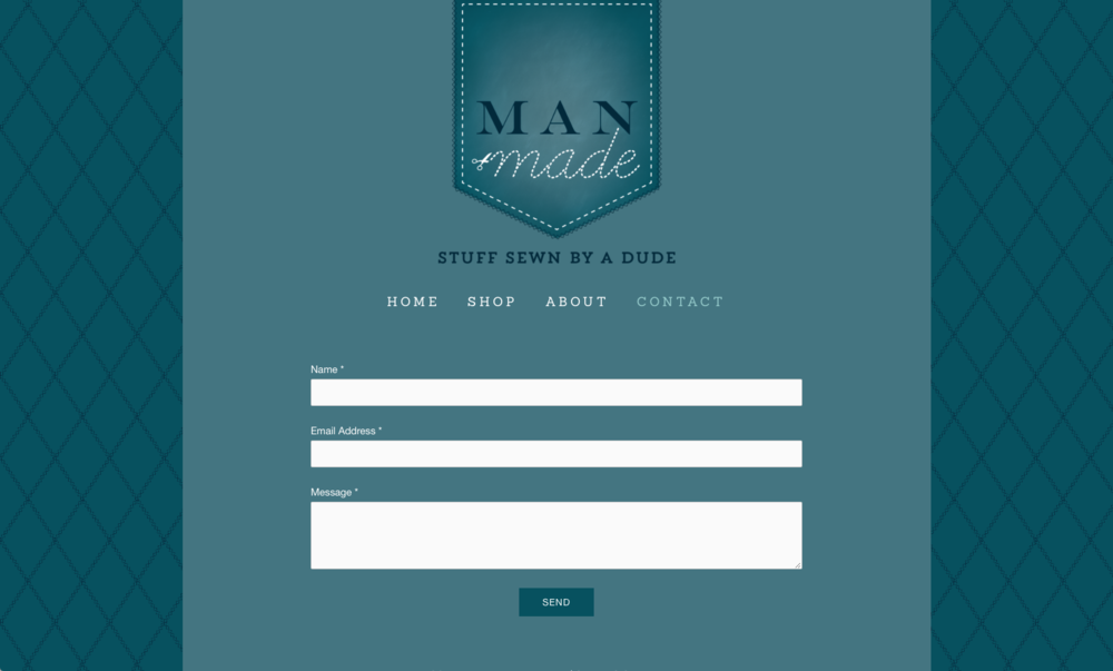 Website Design for Man Made