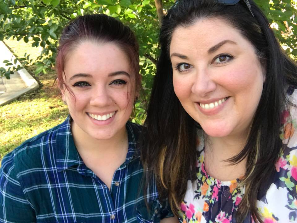 Maddy & Laura at Sam Houston State University (2018)