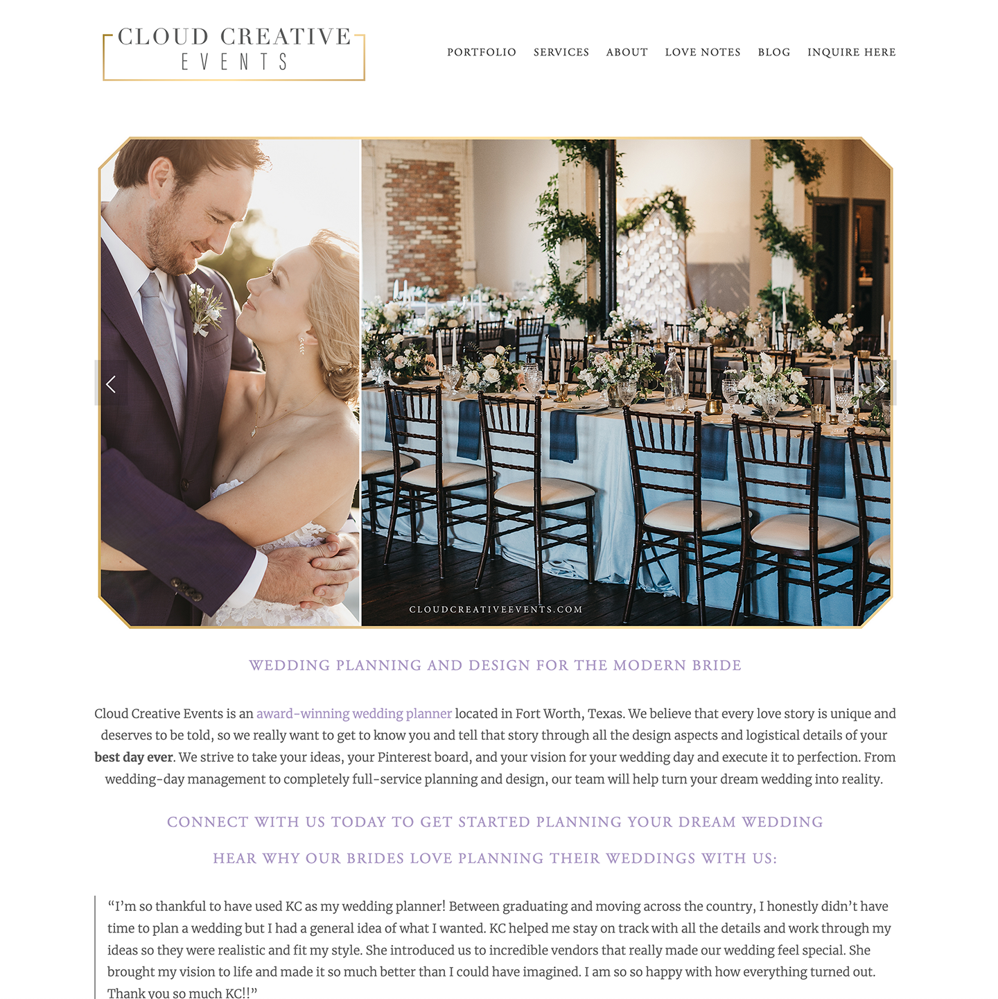 cloudcreative-webdesign-weddingplanner-home.png