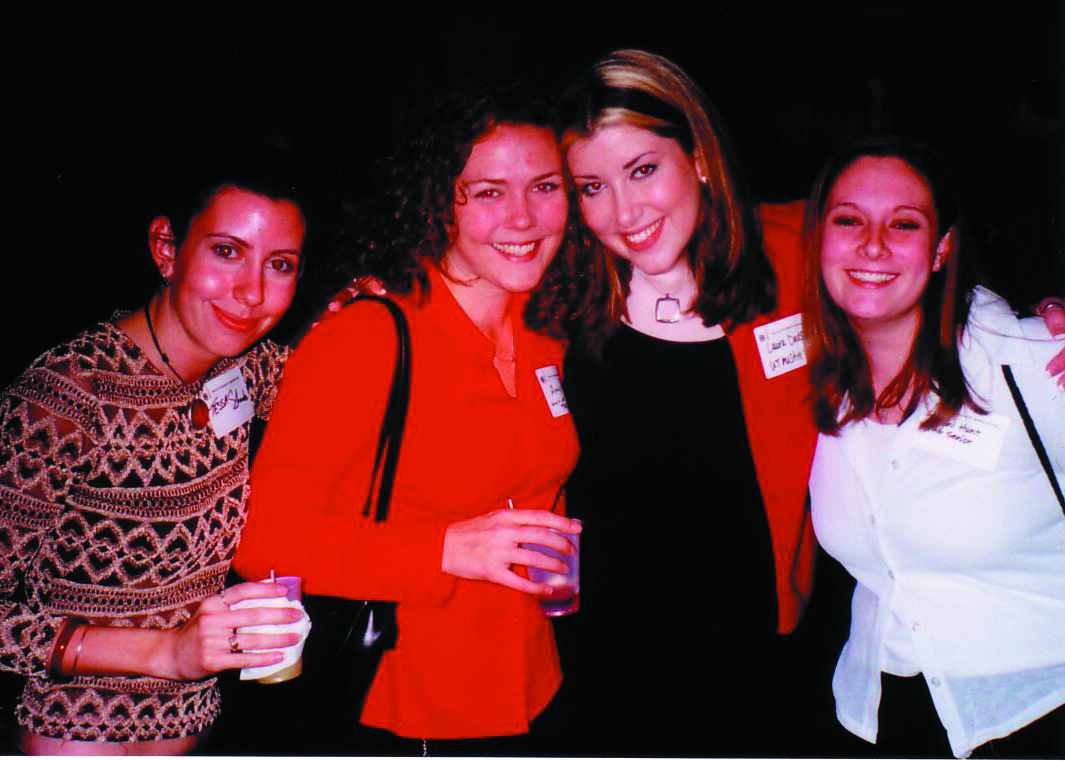 I thought I would be heading straight to NYC after college, but even after a successful recruiting trip with Texas Advertising Group (some of us shown here at an NYC reception) all the companies we met with were on a hiring freeze in 2002, the city still reeling from 9/11. So I headed west instead.