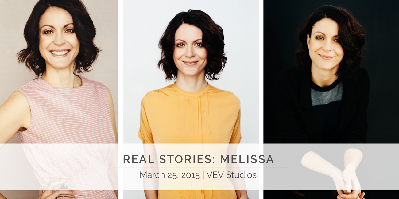 Melissa Hicks in her own words talks her VEV experience and shows us the result