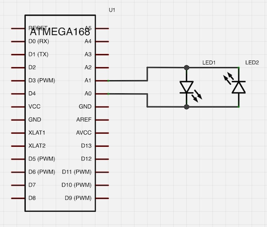 Two LEDs in Parallel