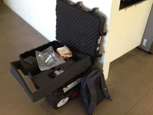 Large Pelican Case of Electronic Goodness